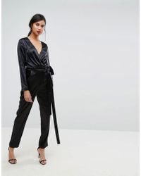 Ivyrevel - Satin Long Sleeved Jumpsuit - Lyst