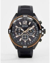 Guess - W1168g3 Surge Bracelet Watch - Lyst