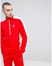 PUMA - T7 Bboy Track Jacket In Red 57497942 - Lyst