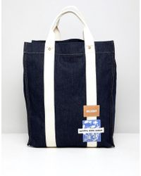 Weekday - Limited Edition Wisconsin Tote Bag In Denim - Lyst