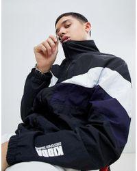Christopher Shannon - Kidda By Chevron Windbreaker Jacket In Black - Lyst
