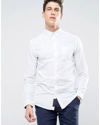 Produkt - Linen Mix Shirt - Lyst