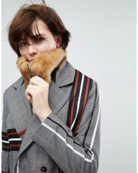 ASOS - Faux Fur Snood - Lyst