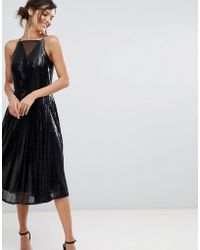 Coast - Vivianna A-line Sequined Dress - Lyst