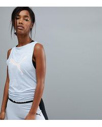 PUMA - Exclusive To Asos Back Detail Studio Tank - Lyst