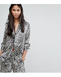 Y.A.S - Steph Leo Printed Pyjama Style Shirt - Lyst