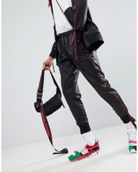 D-ANTIDOTE - X Fila Joggers With Taping - Lyst
