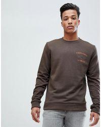 Esprit - Sweatshirt With Paratrooper Print - Lyst