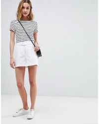 ASOS - Tailored D-ring Linen Shorts - Lyst