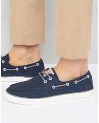 Original Penguin - Canvas Boat Shoes - Lyst