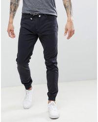 Threadbare Cuffed Chino Trousers
