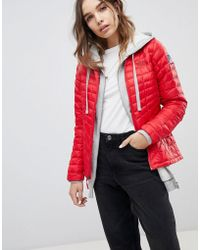 The North Face - International Thermoball Jacket In Red - Lyst