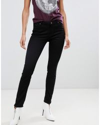 Vivienne Westwood Anglomania - Mid Rise Super Skinny Jeans With Pocket Detail - Lyst