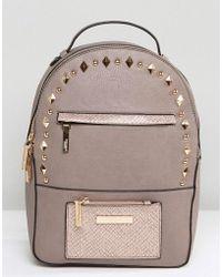 Dune - Studded Backpack - Lyst