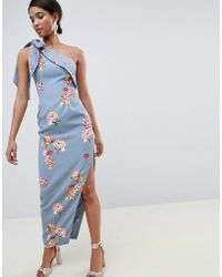 Keepsake - Scattered Floral Maxi Gown - Lyst