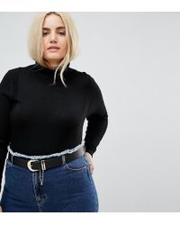 ASOS - Jeans Chain Detail Belt Water Based - Lyst