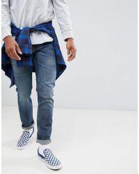 Lee Jeans - Rider Slim Jeans Vintage Wash - Lyst