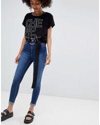 Cheap Monday - High Spray Skinny Jeans - Lyst