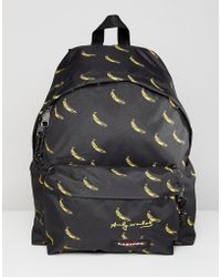 Eastpak - X Andy Warhol Padded Pak'r Backpack 24l - Lyst