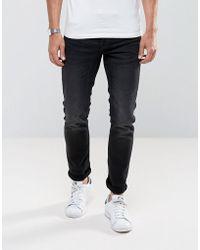 Only & Sons | Slim Fit Jeans In Distress Jog Denim | Lyst