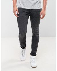Levi's - 519 Extreme Skinny Fit Jeans Basement Wash - Lyst