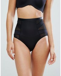 New Look | Solutions High Waist Shaping Brief | Lyst