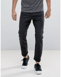 Esprit | 5 Pocket Casual Pants In Black | Lyst
