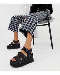 Blink - Sporty Platform Wedge Sandals - Lyst