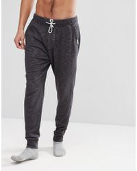 Abercrombie & Fitch - Lounge Cuffed Joggers In Phantom - Lyst