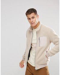 Esprit - Teddy Fleece Jacket - Lyst