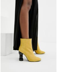 ASOS - Edina Heeled Ankle Boots - Lyst