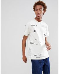 274d6b41c19 Stussy No 4 Doodle T-shirt - White in White for Men - Lyst