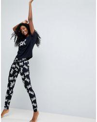 ASOS - Yay Balloon Tee & Legging Pyjama Set - Lyst