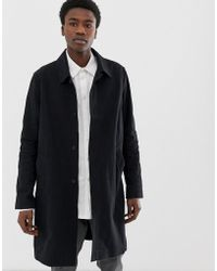 4b9a8b45429b Zee Gee Why Trench Coat Thrasher Setting Suns in Black for Men - Lyst