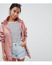 ASOS - Rainwear Jacket With Bumbag - Lyst