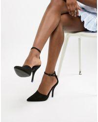 Bershka - Point Heeled Shoe - Lyst