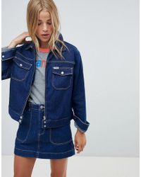 Wrangler - Carpenter Jacket With Contrast Stitch - Lyst