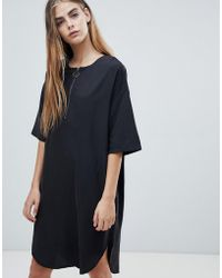Native Youth - Shift Dress With Half Zip - Lyst