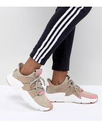 adidas Originals - Prophere Trainers In Beige And Pink - Lyst
