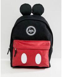 Hype Mesh Drawstring Backpack in Black for Men - Lyst 5d7cd86e1d96a