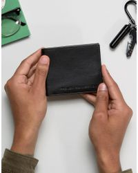 French Connection - Leather Wallet With Embossed Logo - Lyst