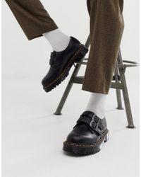 Dr. Martens - Zapatos de 1461 3 ojales en negro de - Lyst