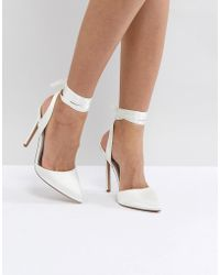 ASOS DESIGN - Asos Pied Piper Bridal High Heels - Lyst