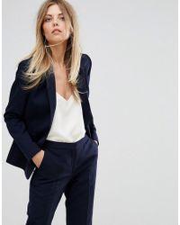 Reiss - Faulkner Tailored Plain Jacket - Lyst