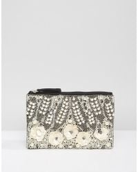 Park Lane - Handmade Beaded Clutch Bag - Lyst