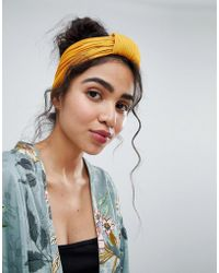 New Look - Knot Headband - Lyst