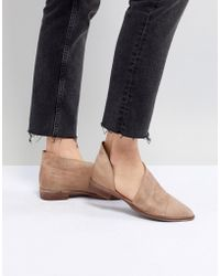 Free People - Royale Flat Shoes - Lyst