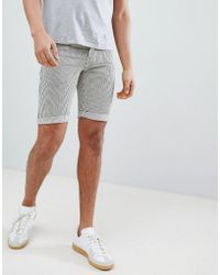 Another Influence - Pinstripe Shorts - Lyst