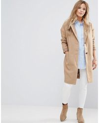 Bellfield - Corvara Wool Blend Tailored Coat - Lyst