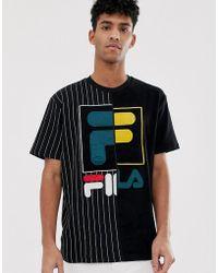 e79f567c180e Fila Retro Referee Shirt With Stripes in White for Men - Lyst